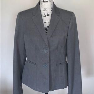 KASPER gray blazer 10